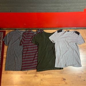 Great bundle of 5 quality shirts. Sized SMALL.